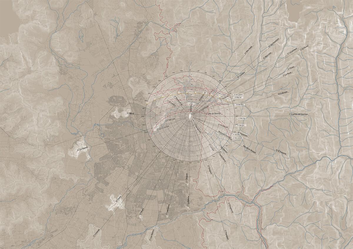 Cerro Calán y la carta solar